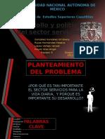 Desarrollo y Politica Del Sector Servicios