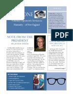 VOSH-ONE Newsletter 2016