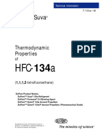 Dupont Suva 134a Thermodynamic Properties - SI