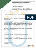 Planeacion y Prospectiva (Evaluacion Inicial)