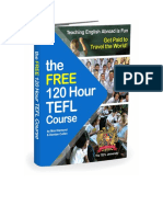 The 120 Hour Free Tefl Course Book 2015