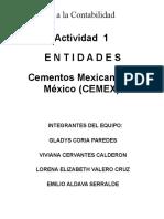 entidad CEMEX