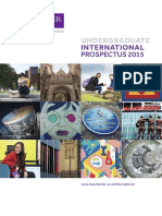 The University of Manchester Prospectus
