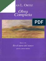 Delgado, Sergio. Introducción. La Obra de Juan L. Ortiz