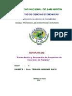 Proyectos de Inversion Turisticos.doc