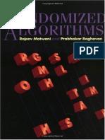 Rajeev Motwani, Prabhakar Raghavan-Randomized Algorithms-Cambridge University Press (1995) (1)