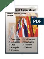 Grade 8 Teaching Guide in Music q1- Southeast Asia