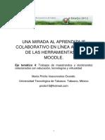 Una Mirada Al Aprendizaje Colaborativo en Linea a Traves de Las Herramien