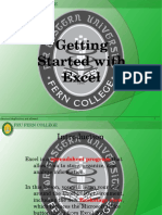 1 - Getting Started With Excel