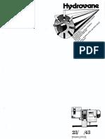 Hydrovane 23-33-43 Compressor Manual
