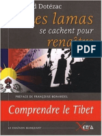 Les Lamas Se Cachent Pour Renaitre - Arnaud Dotézac