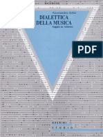 Dialettica Della Musica. Saggio Su Adorn