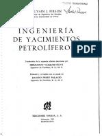 Ingenieria de Yacimientos Petroliferos