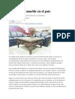 Historia Del Mueble Dominicano