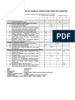 Self Assessment for Diabetes Practice Competence_UPT Puskesmas Pasirkaliki