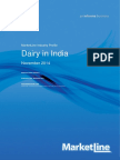 2014- Dairy Industry
