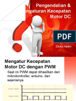 Pengendalian & Pengaturan Kecepatan Motor DC