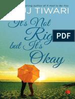 3.It's Not Right_.but It's Okay - Anuj Tiwari