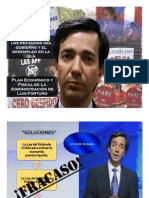 Presentación Indicadores Económicos de Luis Fortuño (2010)