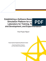 Mehrizi PSERC RealTimeSimulation FinalReport T-54G August 2015