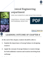 Chapter 8_Steadystate Non-isothermal Reactor