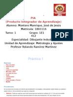 PIA Metrologia