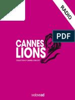Cannes Lions 2011 Winners for Radio En