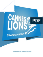 Cannes Lions 2012 Winning Campaigns Branded Content En