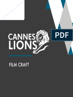 Cannes Lions 2014 Film Craft En
