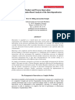 Product and Process Innovation a System Dynamics-Based Analysis of the Interdependencies