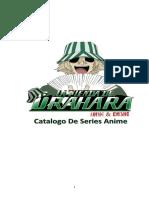 Catalogo de Series Anime 2016