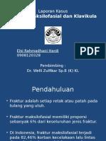 Laporan Kasus Fraktur Maksilofasial
