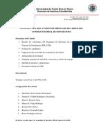INFORME FINAL DEL COMITÉ DE PRÉSTAMO DE LIBROS DEL CONSEJO GENERAL DE ESTUDIANTES