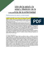 Medición de La Salud y La Enfermedad y Medicion de La Frecuencia de La Enfermedad (1)