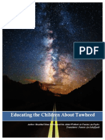 Educating the Children About Tawheed