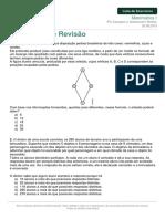Listadeexercicios Matematica1 Exercicios Revisao 20-08-2015