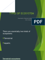 Types of Ecosystem