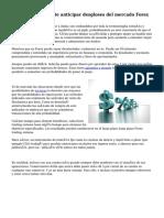 Los puntos de pivote anticipar desgloses del mercado Forex