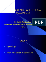 Adolescents and the Law Dr Sheila