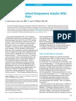 Feldenkrais Method Empowers Adults With Chronic.4