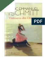 Visatoarea Din Ostende - Schmitt, Eric-Emmanuel
