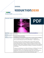 p24 Course Description Welding Technology Courseplan 2016
