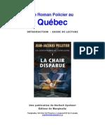 Le Roman Policier au Québec
