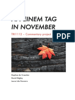 An einem tag in November
