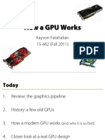 How a GPU Works - Kayvon Fatahalian