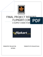 136499193 Flipkart SCM Report Group 12