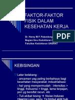 Faktor-faktor Fisik Dalam Kesehatan Kerja
