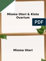 Mioma & kista