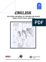 English 6 Dlp 4 Decoding Meaning of Unfamiliar Words Using Structur 150603124800 Lva1 App6892