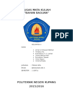 Tugas Bahan Bangunan Politeknik Negeri Kupang